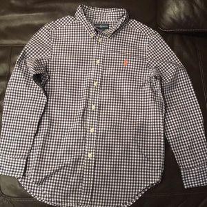 Ralph Lauren polo shirt boys M 10/12